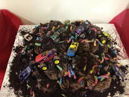monster truck cake ideas with cupcakes 54341 monster truck