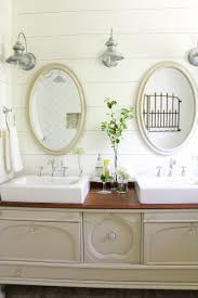 Farmhouse Style Bathroom Vanity by How To Transform A Vintage Buffet Into A Diy Bathroom Vanity