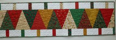 patchwork progress christmas table runner quilt loccie better
