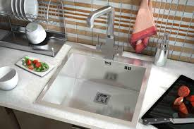 fashionable stainless kitchen sink for elegant kitchen fixtures