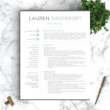 modern resume templates free word best template ideas on for mac