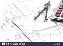 house construction plans house building construction plans with calculator pencil and