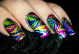 rainbow nails the adorned claw