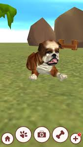 virtual pet app for android review of puppy dog 3d