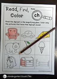 Digraphs Worksheets Free Digraph And Cvce Printables The Kindergarten Connection
