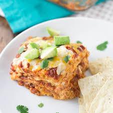 Gingerdoodle by Quinoa And Sweet Potato Enchilada Casserole Kristine U0027s Kitchen