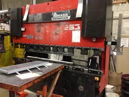 press brake 138 ton amada model hfb 1253 cnc press brake