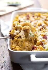 chicken bacon pumpkin pasta bake recipe pinch of yum