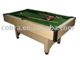 professional pool table size kbl 8008 selling standard size billiard table strong structure