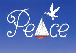 nautical christmas cards peace sailboat nautical christmas card by farm studios