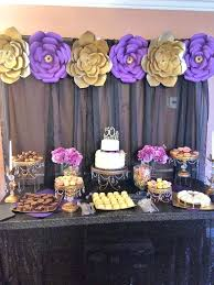 60th birthday party decorations party decoration ideas for 60th birthday gold purple and black