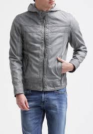 Light Blue Jacket Mens Light Leather Jacket Men Biker Look Men S Brown Leather Jacket