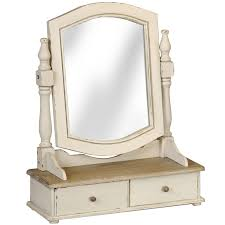 hi metropolitan dressing table mirror with 2 drawers country