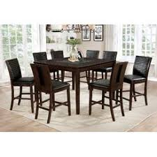 9 piece dining room set 9 piece counter height dining room set