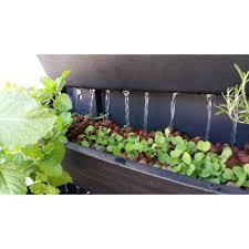 Wall Garden Planter by Wall Garden Kit Including Frame 5 Planters Nutrient Reservoir