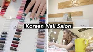 treating myself korean nail salon u0026 acne treatment youtube