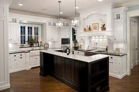 kitchen island different color than cabinets punch up a white kitchen with a contrasting island abode