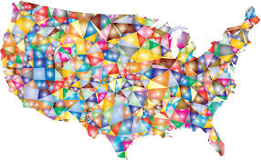 The Map Of Usa by Colorful Usa Map States Capital Cities Stock Vector 122815633 Usa