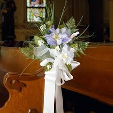 Wedding Pew Bows Wedding Pew Bow Craft Epattern Leisurearts Com