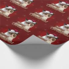 grumpy cat wrapping paper christmas wrapping paper the cool the the and