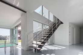 interior modern stair ideas come with straight stair wooden
