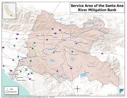 Santa Ana California Map Arundo Habitat Management Sawpa