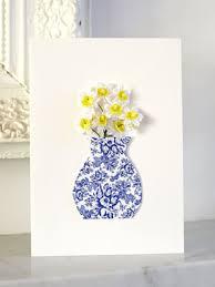 Pretty Vase Make A Pretty Vase Card Of Flowers Card Handmade Cards