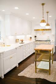 kitchen style all white farmhouse kitchen design brass kitchen