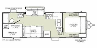 Wilderness Rv Floor Plans 2009 Fleetwood Trailers Reviews Prices And Specs Rv Guide