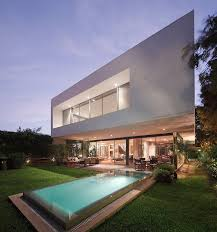 The Backyard A Study In Crisp Contemporary Design Exquisite House M In Lima