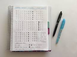 using a planner key and symbols to code your planner efficient