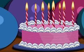 birthday cake hd desktop wallpaper widescreen high definition