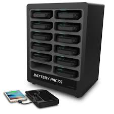 portable battery dock chaging station 12 chargetech