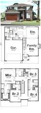 house plan 41109 total living area 2158 sq ft 4 bedrooms u0026 3 5