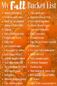 my fall bucket list magnolia moon