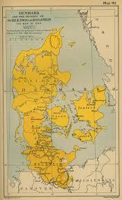 map of denmark schleswig holstein lauenburg in 1864