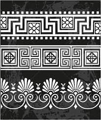 set antique ornaments vector illustration gintaras