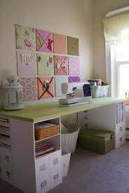 How To Organize Craft Room - craft tables with storage attempting to organize your creativity