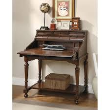 Wood Secretary Desk by Coaster Furniture Flip Top Secretary Desk Hayneedle