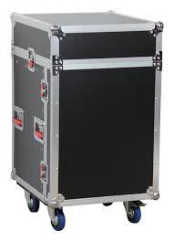Wood Audio Rack Gator Cases G Tour 10x12 Ata Wood Flight Rack Case 10u Slant Top