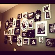 Photo Frame Ideas Best 25 Wall Collage Frames Ideas On Pinterest Wall Collage