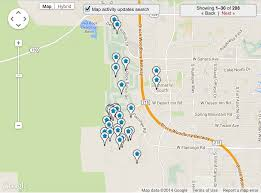 North Las Vegas Map by 89135 Homes For Sale