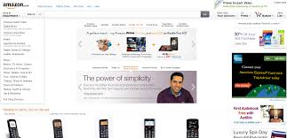 Amazon Home Blog Special Mobiles For Older People Amazon Home Page Runs Our