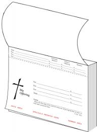 Thanksgiving Offering Envelopes Stock Offering Envelope Books U2013 One Write Company