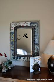 Funky Bathroom Mirror by License Plate Mirror Boys Bathroom Project Pinterest