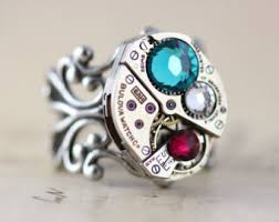grandmothers ring mothers ring unique mothers day gift birthstone ring