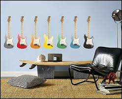 Guitar Home Decor Decorating Theme Bedrooms Maries Manor Music Bedroom Decorating