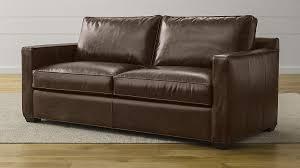 leather sleeper sofa davis leather sleeper sofa in sleeper sofas reviews