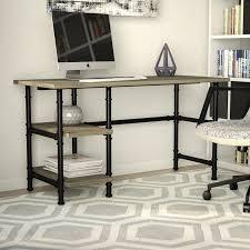 Registry Row Desk Mercury Row Buelow Computer Desk U0026 Reviews Wayfair