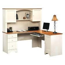 Computer Desk With Hutch Cherry Sauder Desk With Hutch Looking Harbor View Computer Desk With
